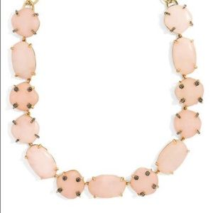 BaubleBar • Rose Quartz & Smoky Crystal Necklace